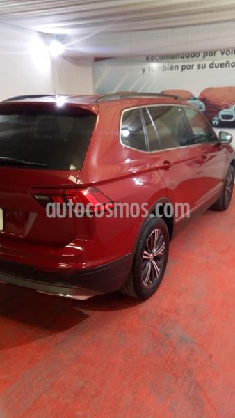 Volkswagen Tiguan Comfortline 5 Asientos Piel usado (2020) color Rojo Rubi precio $460,000