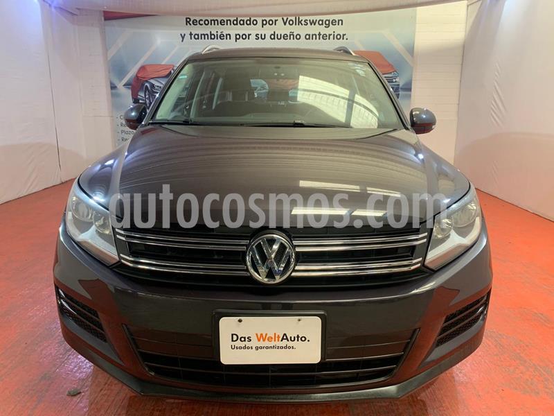 Volkswagen Tiguan Track & Fun usado (2016) color Gris precio $235,000