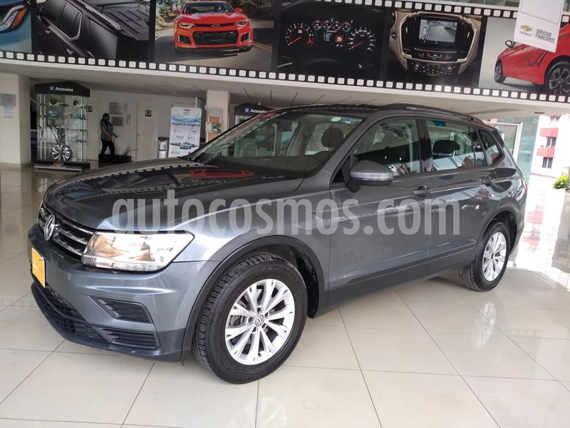 Volkswagen Tiguan Trendline Plus usado (2018) color Verde Oscuro precio $315,000