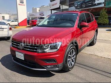 Volkswagen Tiguan 5 pts. Comfortline Piel usado (2018) color Rojo precio $385,000
