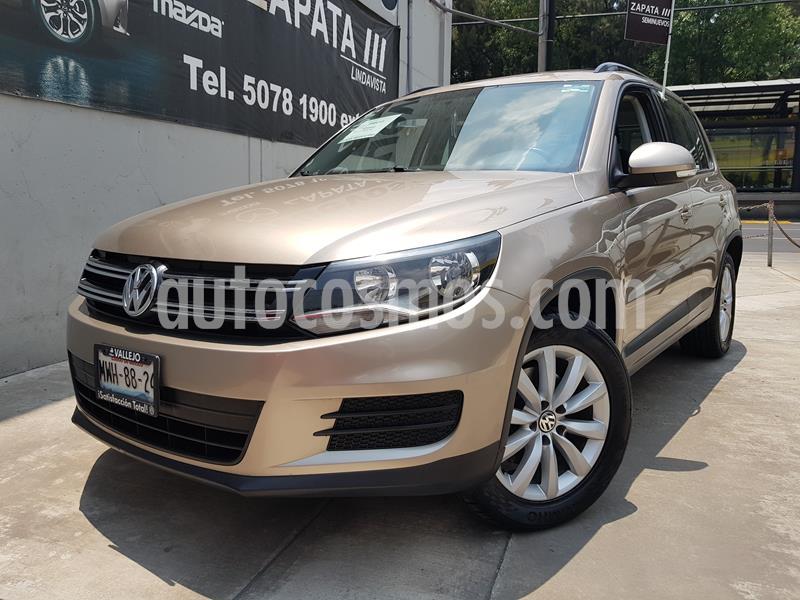 Volkswagen Tiguan Sport & Style usado (2016) color Bronce precio $250,000