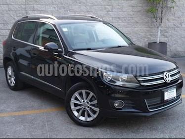 Volkswagen Tiguan 5P TRACK|FUN 4M L4/2.0/T AUT usado (2013) color Negro precio $205,000