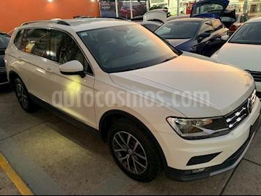 Volkswagen Tiguan Comfortline 5 Asientos Piel usado (2018) color Blanco precio $409,900