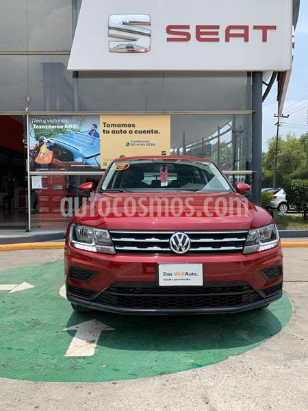 Volkswagen Tiguan Trendline Plus usado (2018) color Rojo Rubi precio $330,990