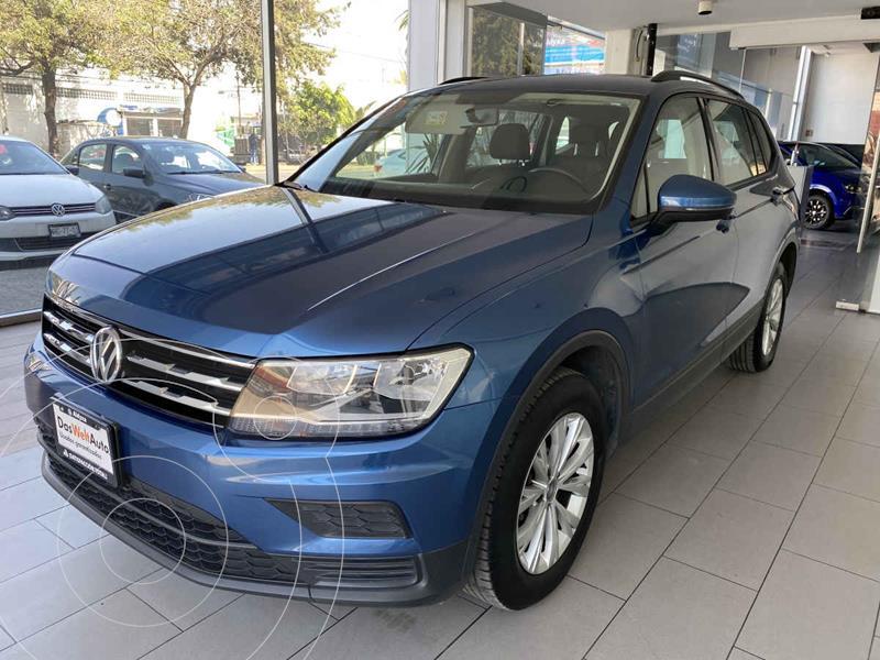 Foto Volkswagen Tiguan Trendline Plus usado (2020) color Azul precio $395,000