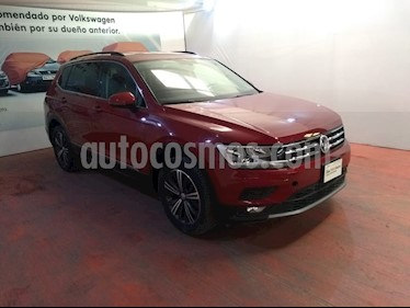 Volkswagen Tiguan Comfortline 7 Asientos Tela usado (2019) color Rojo Rubi precio $413,000