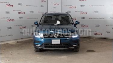 Volkswagen Tiguan Comfortline 7 Asientos Tela usado (2019) color Azul precio $420,000