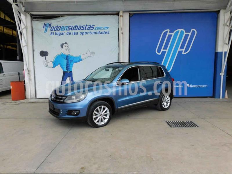 Volkswagen Tiguan Wolfsburg Edition usado (2017) color Azul precio $148,000