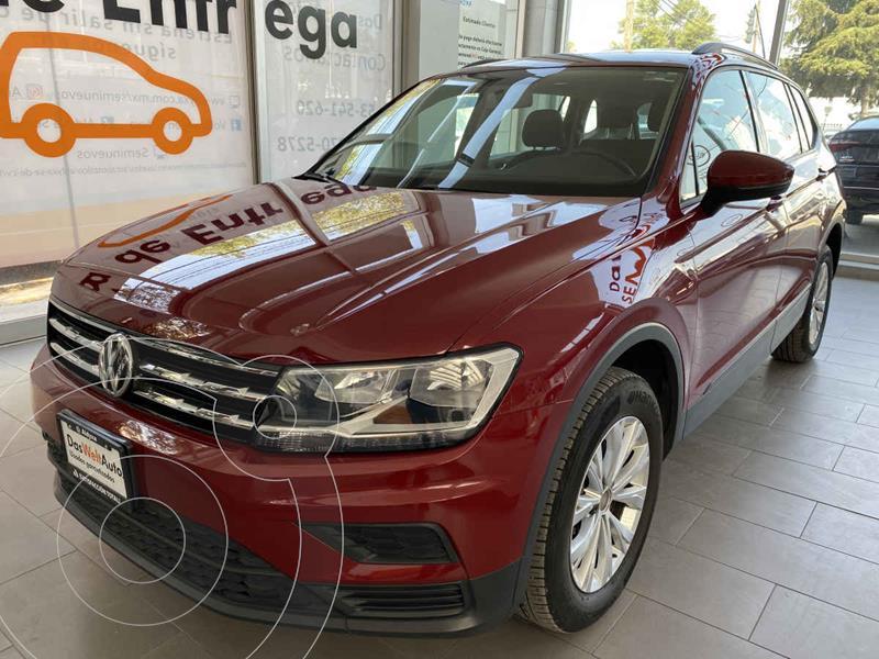 Foto Volkswagen Tiguan Trendline Plus usado (2020) color Rojo precio $395,000