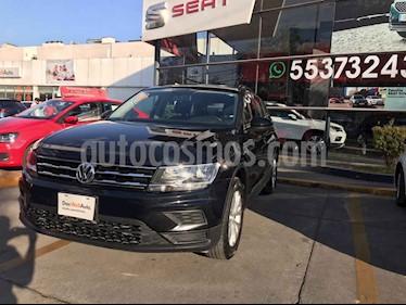Volkswagen Tiguan 5p Trendline Plus 1.4 L4/1.4/T Aut usado (2019) color Negro precio $365,000