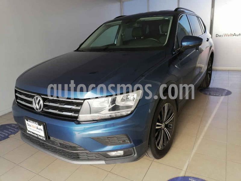 Volkswagen Tiguan Comfortline usado (2019) color Azul precio $410,000