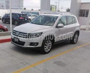 Volkswagen Tiguan Track & Fun Navegacion usado (2015) color Blanco precio $240,000