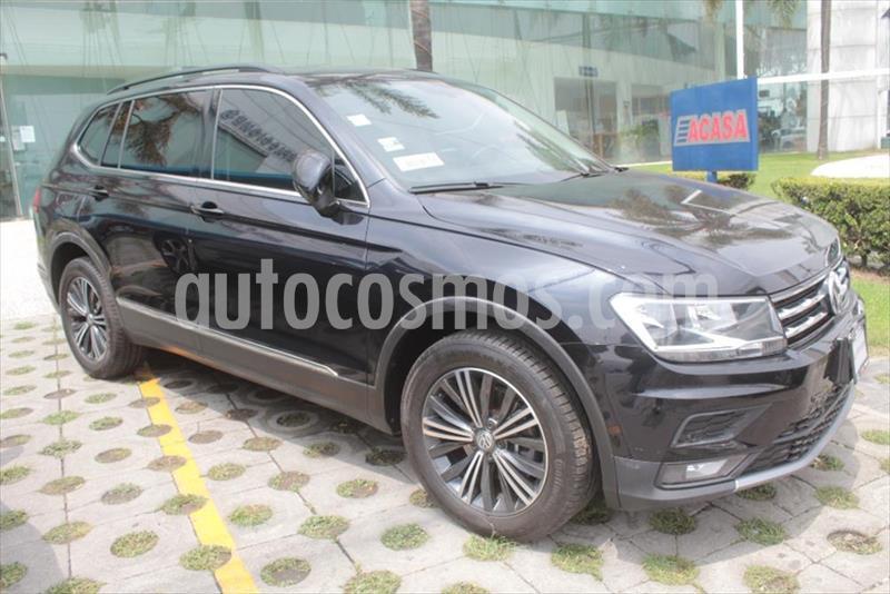 Volkswagen Tiguan Comfortline 5 Asientos Piel usado (2019) color Negro precio $395,000