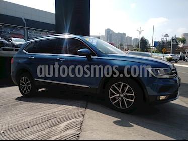 Volkswagen Tiguan Comfortline 5 Asientos Piel usado (2018) color Azul precio $339,900