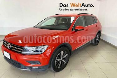 Volkswagen Tiguan 5p Confortline L4/1.4/T Aut Piel usado (2019) color Naranja precio $398,488