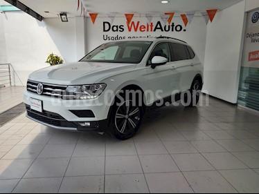 Volkswagen Tiguan Comfortline 5 Asientos Piel usado (2019) color Blanco precio $449,000