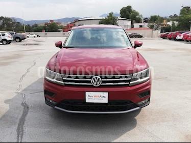 Volkswagen Tiguan Comfortline usado (2018) color Rojo Rubi precio $375,000