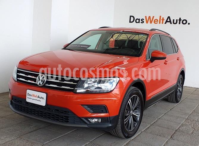 Volkswagen Tiguan Comfortline usado (2019) color Naranja precio $410,000