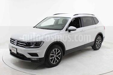 Volkswagen Tiguan Comfortline 5 Asientos Piel usado (2019) color Blanco precio $439,000