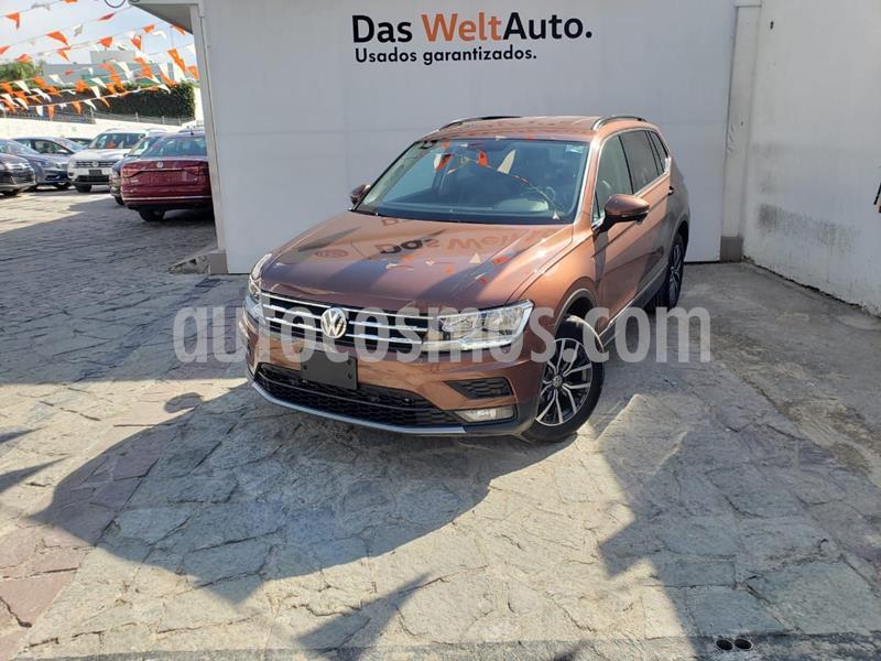 Volkswagen Tiguan Comfortline usado (2018) color Marron precio $400,000