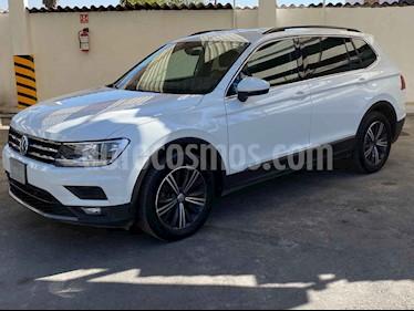 Volkswagen Tiguan 5p Confortline L4/1.4/T Aut Piel usado (2019) color Blanco precio $367,900