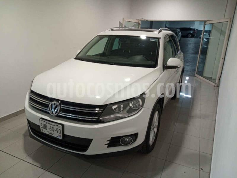 Volkswagen Tiguan Track & Fun Navegacion Piel usado (2017) color Blanco precio $280,000