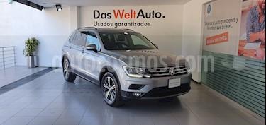 Volkswagen Tiguan Comfortline 5 Asientos Piel usado (2019) color Plata precio $460,000