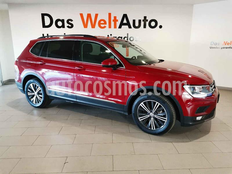 Volkswagen Tiguan Comfortline 7 Asientos Tela usado (2019) color Rojo precio $403,500