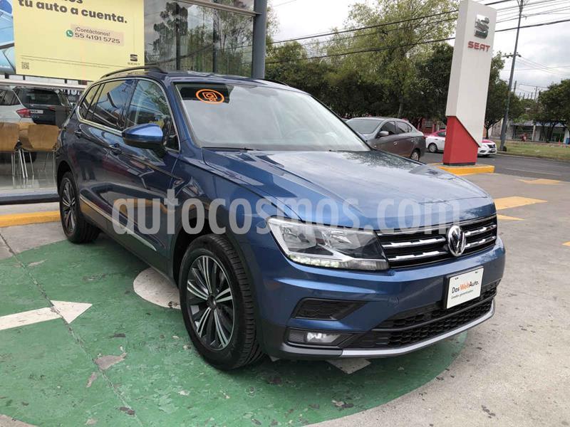 Volkswagen Tiguan Comfortline usado (2019) color Azul precio $390,000