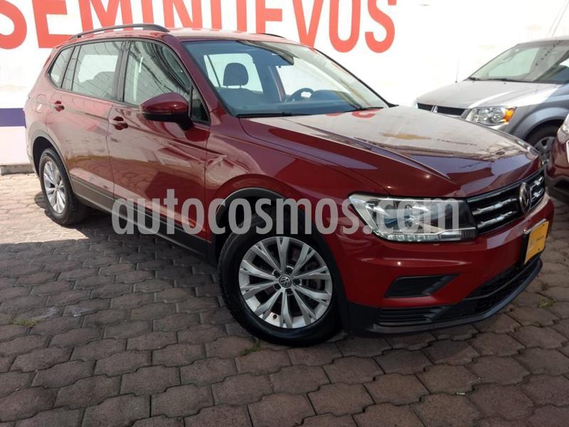 Volkswagen Tiguan Highline usado (2018) color Rojo precio $285,000
