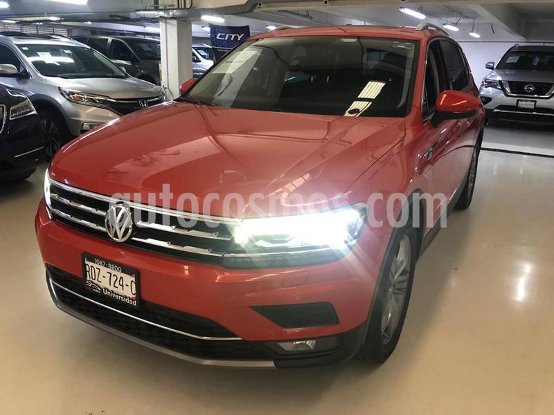 Volkswagen Tiguan Highline usado (2018) color Naranja precio $439,100