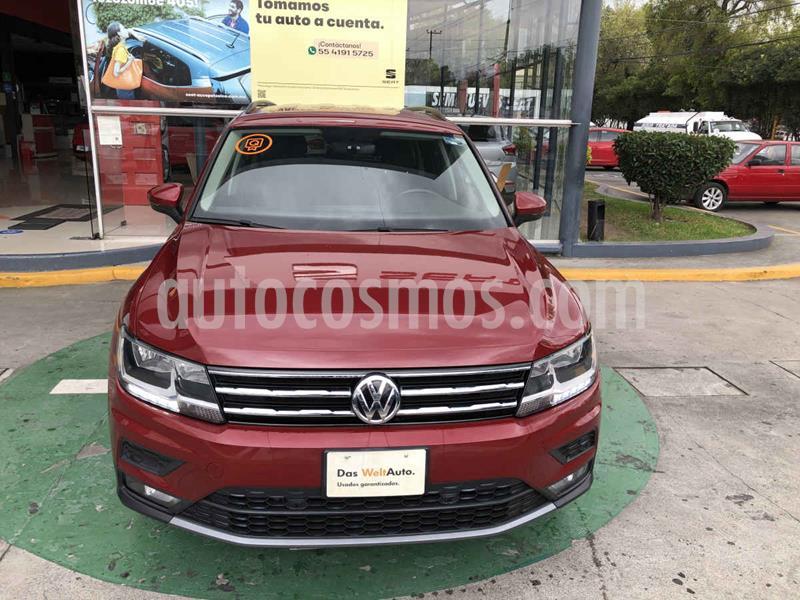 Volkswagen Tiguan Comfortline usado (2019) color Rojo precio $399,990