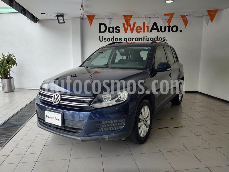 Volkswagen Tiguan Sport & Style 2.0 usado (2015) color Azul Noche precio $249,000