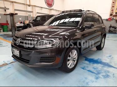 Volkswagen Tiguan 5P SPORT | STYLE 1.4T DSG QCP BARRAS/TOLDO RA-17 usado (2016) color Gris precio $259,000