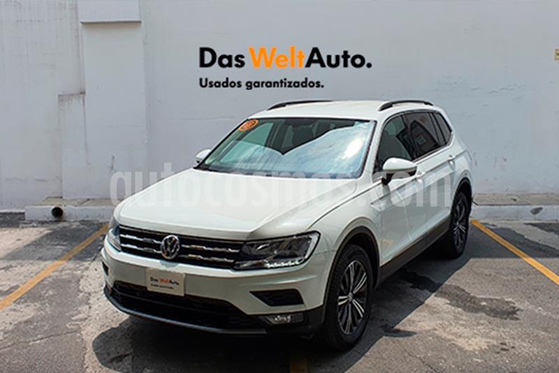 Volkswagen Tiguan Comfortline 7 Asientos Tela usado (2019) color Blanco precio $448,000