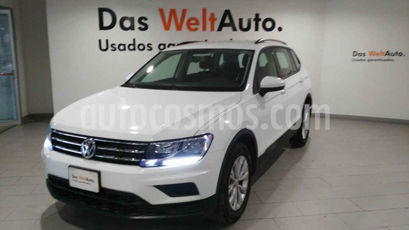 Foto Volkswagen Tiguan Trendline Plus usado (2019) color Blanco precio $359,900