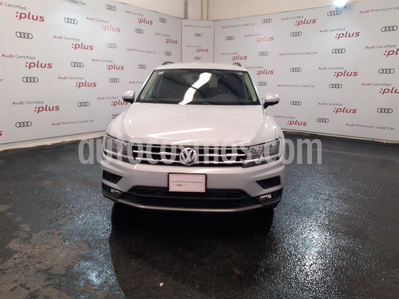 Volkswagen Tiguan Comfortline 5 Asientos Piel usado (2019) color Blanco precio $430,000