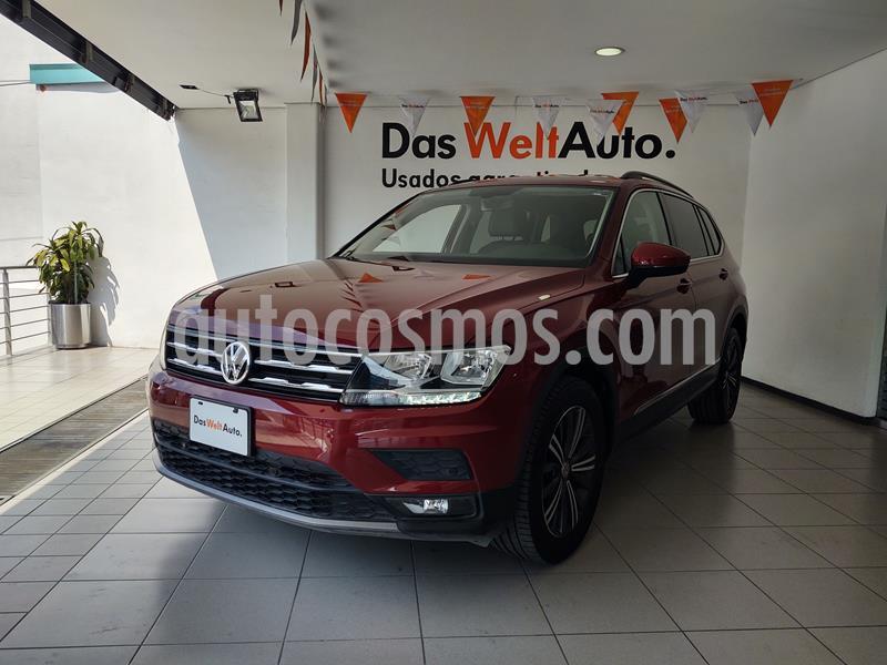 Foto Volkswagen Tiguan Comfortline 5 Asientos Piel usado (2019) color Rojo precio $399,000