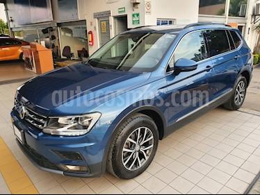 Volkswagen Tiguan Comfortline 7 Asientos Tela usado (2018) color Azul precio $384,900