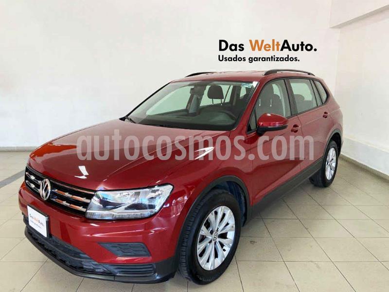 Volkswagen Tiguan Trendline Plus usado (2019) color Rojo precio $349,965
