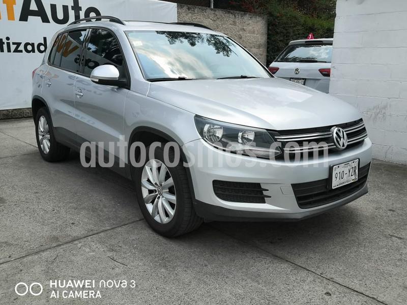 Volkswagen Tiguan Sport & Style 2.0 usado (2013) color Plata precio $195,000
