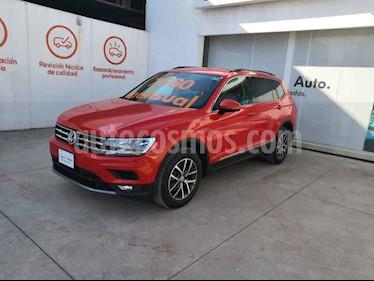Volkswagen Tiguan Comfortline usado (2018) color Naranja precio $399,000