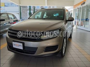 Volkswagen Tiguan Sport & Style 1.4 usado (2015) color Beige precio $215,000