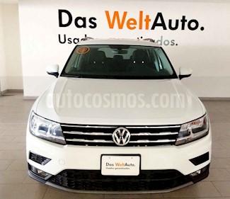 Volkswagen Tiguan 5p Confortline L4/1.4/T Aut Piel usado (2019) color Blanco precio $415,000