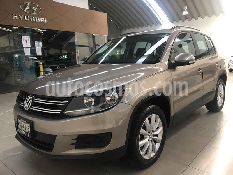 Volkswagen Tiguan Sport & Style 1.4 usado (2015) color Dorado precio $232,000
