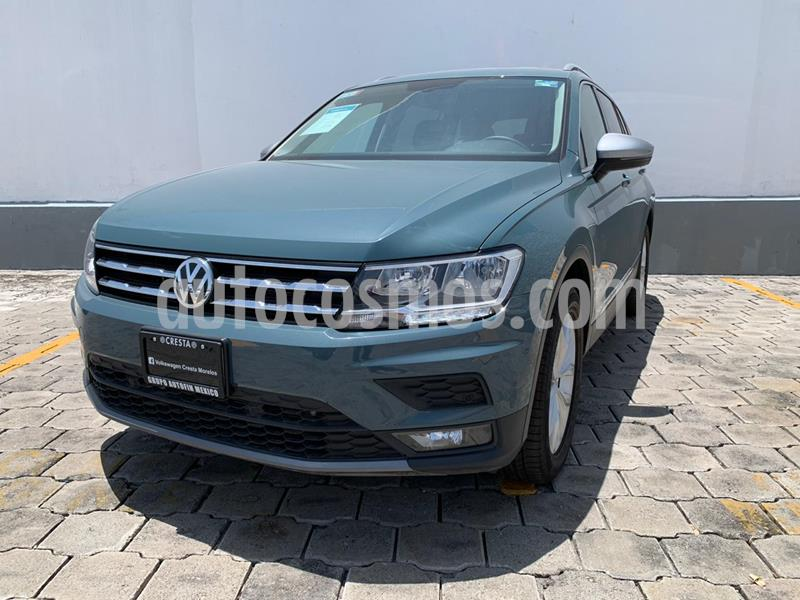 Volkswagen Tiguan Comfortline 5 Asientos Piel usado (2020) color Azul precio $474,900