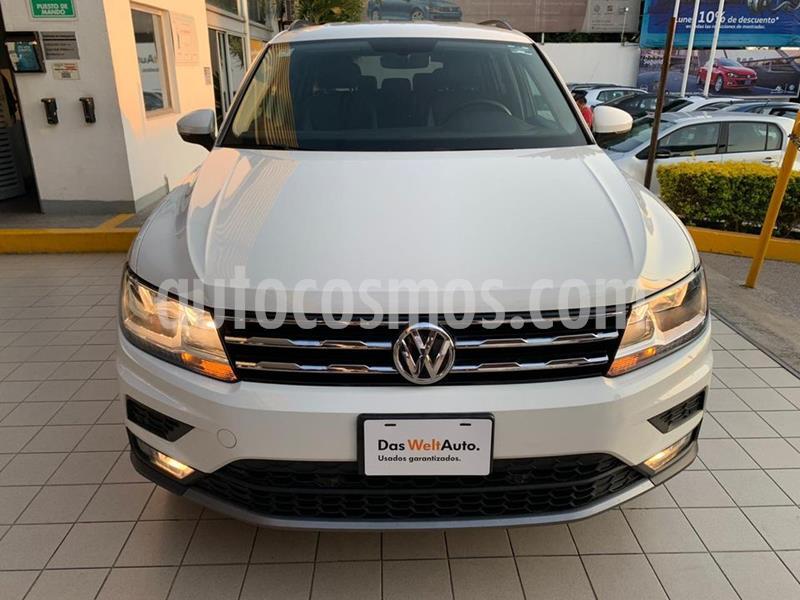 Volkswagen Tiguan Comfortline 7 Asientos Piel usado (2019) color Blanco precio $4,249,000