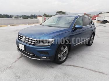 Volkswagen Tiguan Highline usado (2019) color Azul precio $550,000