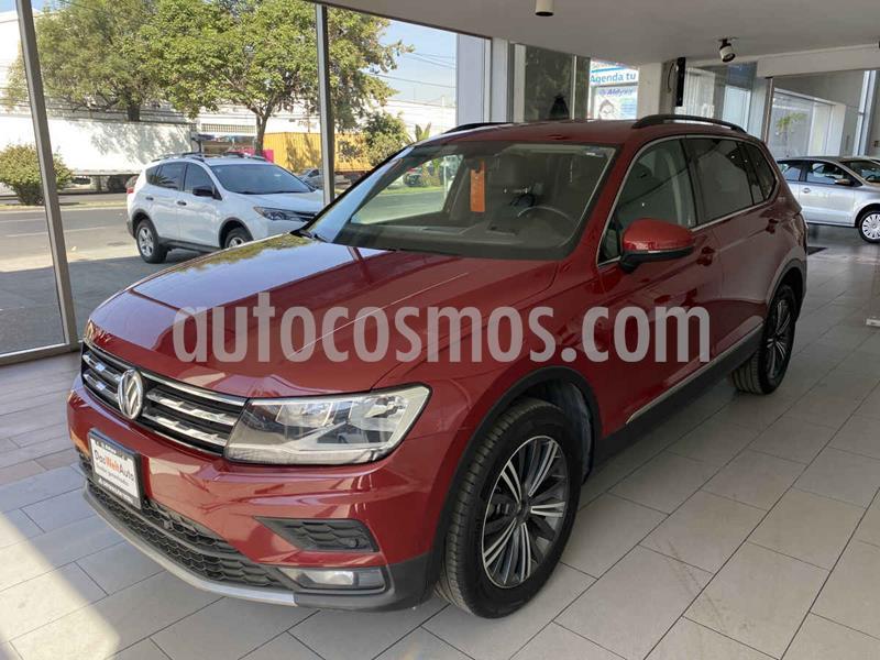 Volkswagen Tiguan Comfortline usado (2019) color Rojo precio $399,000