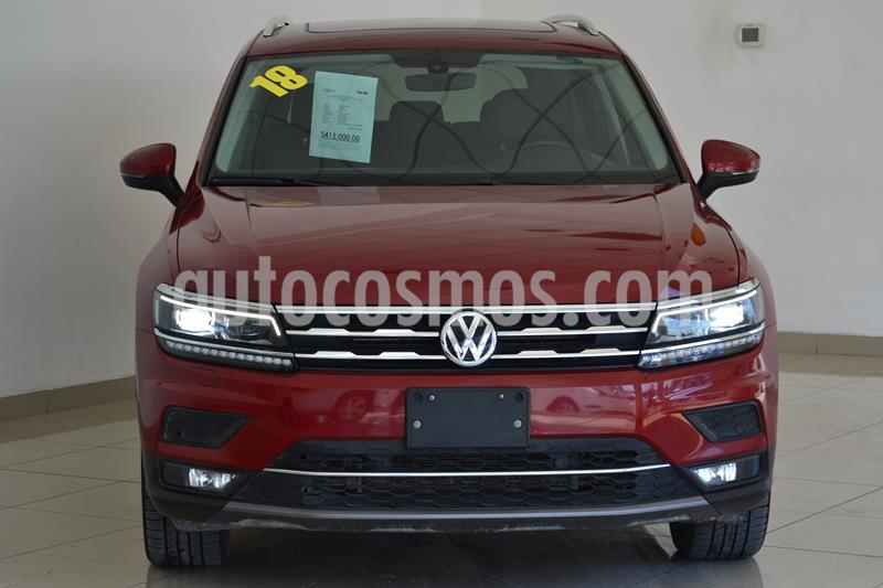 Foto Volkswagen Tiguan Highline usado (2018) color Rojo Rubi precio $415,000